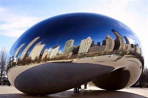 cloud gate  landmark  chicago city traveldiggcom
