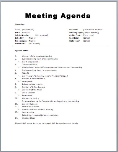 event planning agenda template sle agendas for meetings basic meeting agenda template