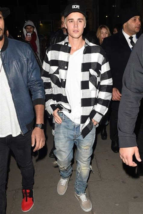 Ak Flannel Justin 1000 images about justin bieber fashion style on