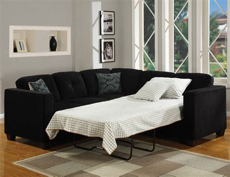 Black Sleeper Sectional Sofa For Small Spaces Interior Sectional Sleeper Sofa Small Spaces
