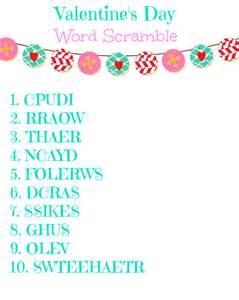 Free valentine s day word scramble printable shesaved 174