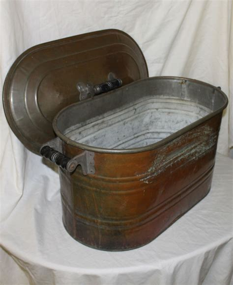 Bargain John's Antiques   Antique Copper Boiler with