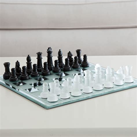 white chess set black and white mirror board chess set chess sets at