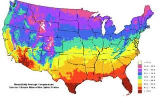Temperature Map Of Usa by Weather History Weather Org
