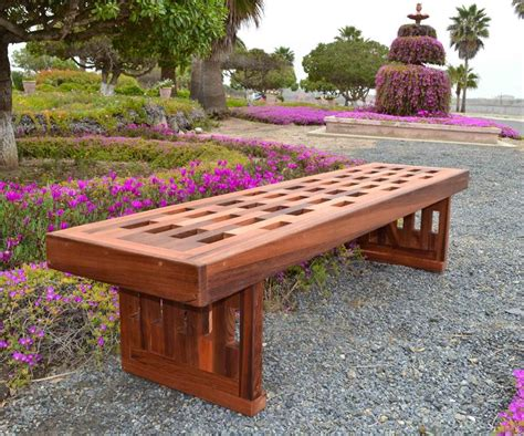 Backyard Bench Ideas Lighthouse Garden Bench