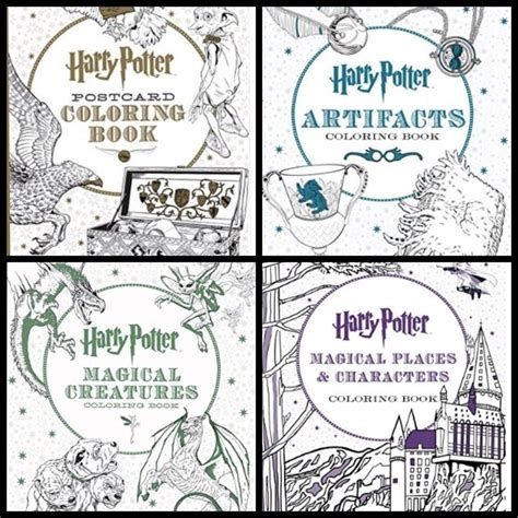 harry potter coloring book places and characters harry potter and 10 best moments from scholastic harry