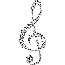 adesivi follia adesivo murale note musicali