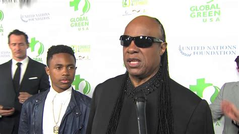 oscars 2016 contenders party report premieres parties global green usa pre oscar party stevie wonder interview