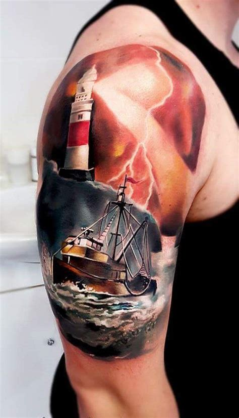 100 boat tattoo designs tattoo designs lighthouse and