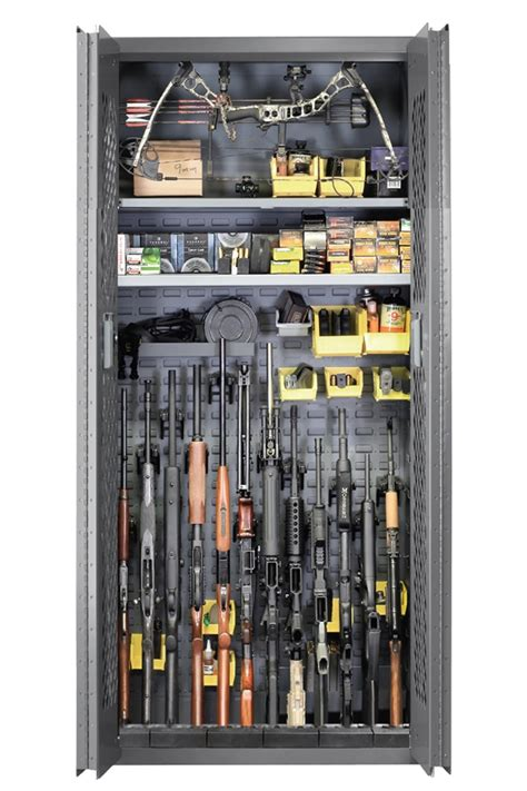 Tactical Gun Cabinet by Secureit Tactical Model 72 12 Gun Storage Cabinet Sec