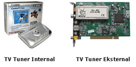 Tv Tuner Lcd Eksternal ilmu shooting indonesia definisi jenis pengoperasian tv tuner dan eksternal