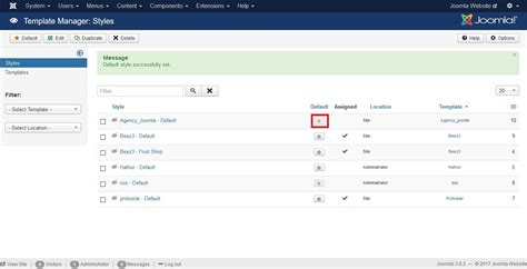 step by step guide on how to upload a template in joomla