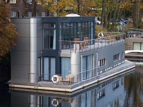 houseboat germany shape of a spam can hamburg germany houseboat photo by