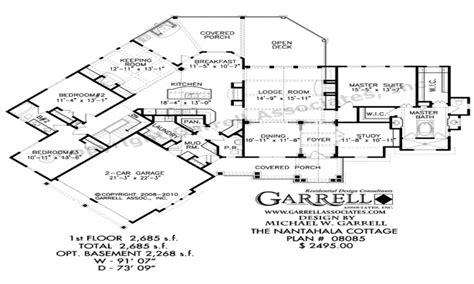 nantahala floor plan nantahala cottage house plan tranquility house plan floor