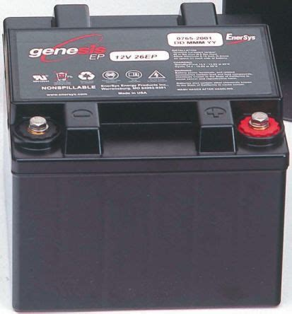 genesis battery g12v16ep enersys genesis rs3727 12v lead acid battery