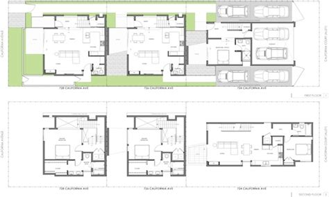 modern townhouse designs and floor plans modern townhouse plans modern house