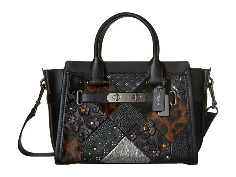 Coach Swagger 27 Embelished coach embelished quilt coach swagger 27 zappos free shipping both ways