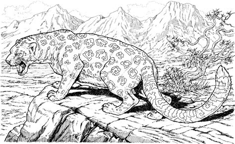 detailed animal coloring pages or outstanding detailed