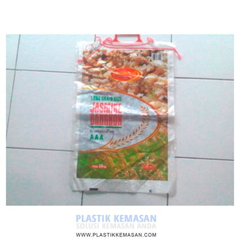 Plastik Kemasan Beras kantong beras 5 kg plastik kemasan pouch zipper