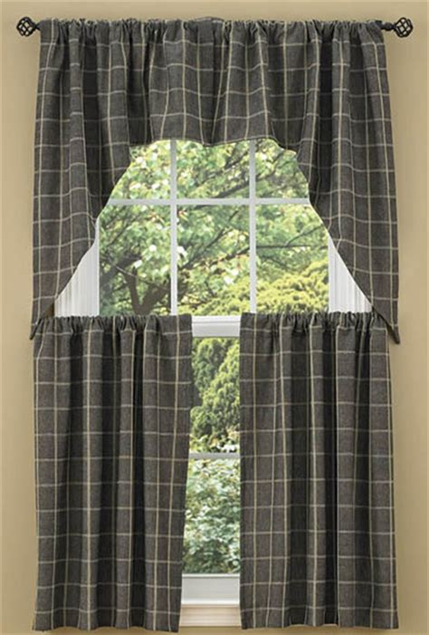 Country Home Designs stonebridge window curtain swag