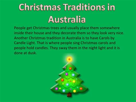 celebrated in australia traditions in australia