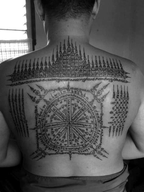 thai tattoo london sak yant buddhist sak yant temple tattoo pinterest