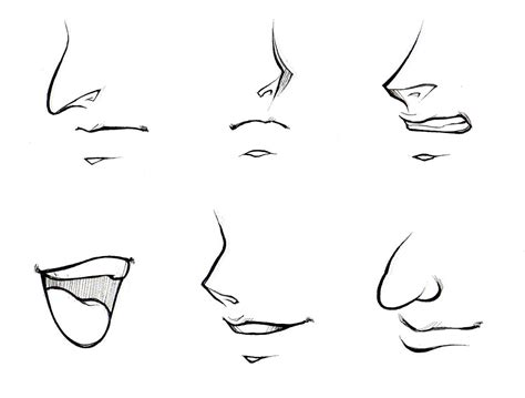how to draw noses anime drawing drawing sketch picture