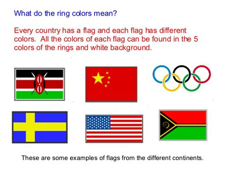 what different colors mean what do the ring colors