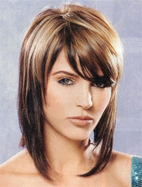 trendy medium length hair for over seventies classy two tone medium length hairstyles to latest