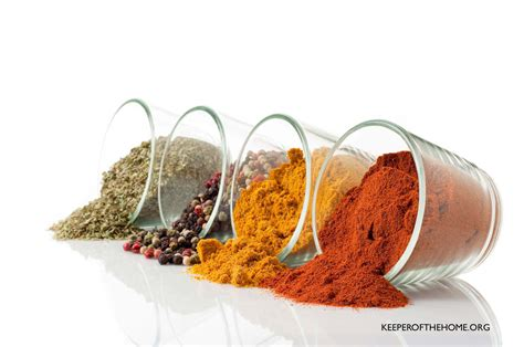 12 simple spice mixes keeper of the home