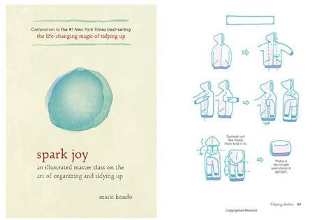 libro spark joy an illustrated marie kondo s newest book lacking spark or lighting a fire