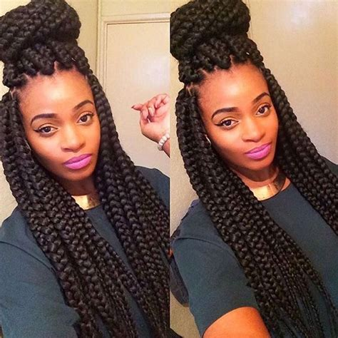 jumbo braids i like the size of these haircation 35 absolutely beautiful feed in braid hairstyles