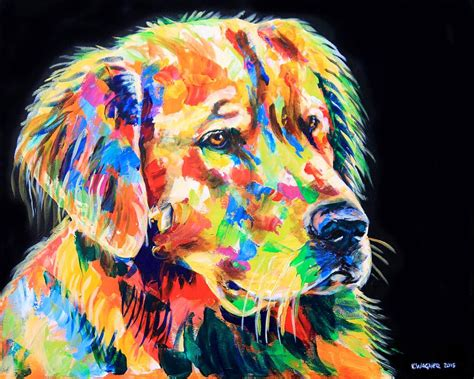 golden retriever coat colors golden retriever a coat of many colors painting by karl wagner