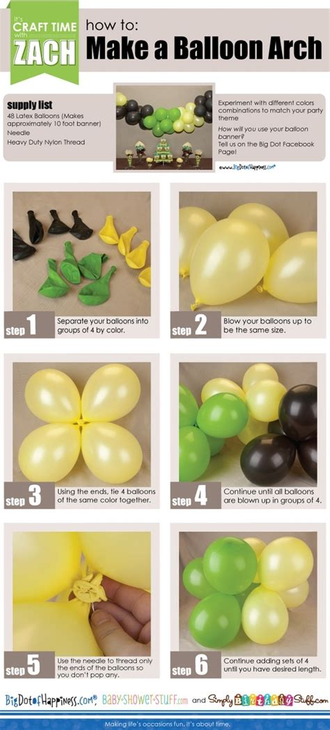 How To Make Balloon Decorations by How Yo Make A Balloon Arch Pictures Photos And Images