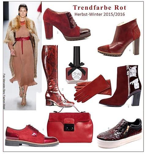Modefarbe Herbst 2016 by Schuhmode Trendfarben Herbst Winter 2015 16 Gt Die Welt