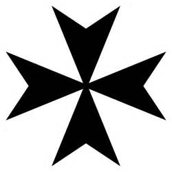 The maltese cross cross of the knights of malta eight pointed cross