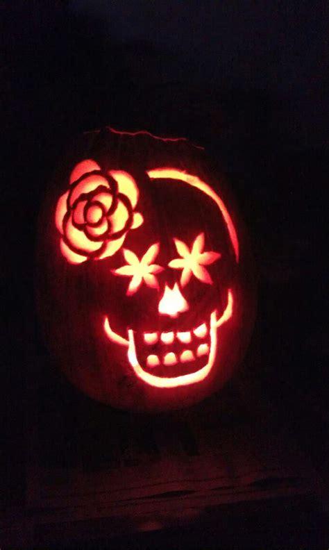 dia de los muertos pumpkin template tonya dusold d 237 a de los muertos