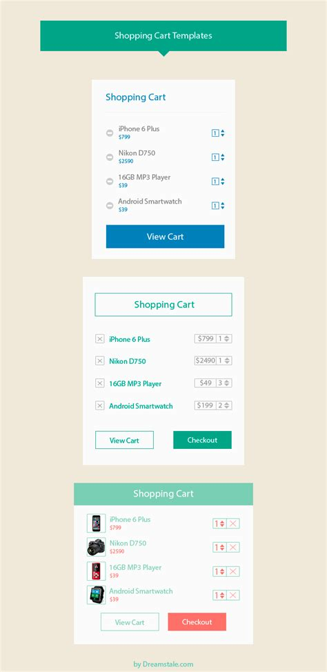 shopping cart template for freebie shopping cart design templates dreamstale