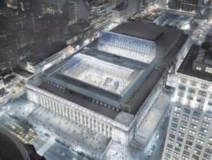 car rental penn station new york som designed moynihan station redevelopment will decongest