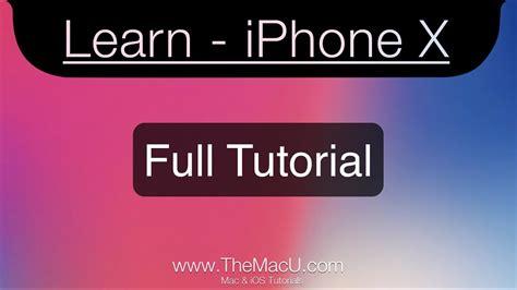 iphone x xs xr tutorial