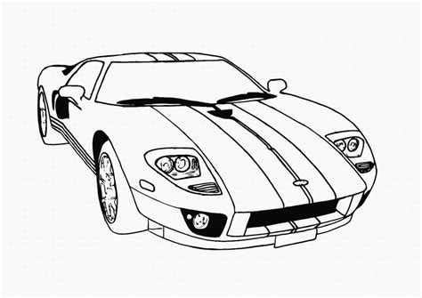 coloring page for car coloring cars coloring pages for kids printable