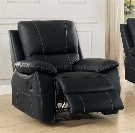 Greeley Furniture by Greeley Motion Sofa 8325blk In Black By Homelegance W Options