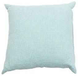 pre owned light teal throw pillow style
