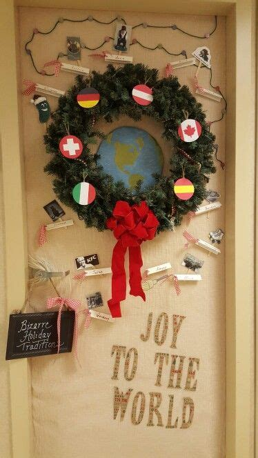 christmas decorations ideas world top blogger 1000 images about christmas door decor for work on