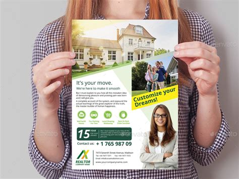 Realtor Flyers Templates by Realtor Flyer Template By Wutip2 Graphicriver