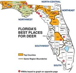 florida wma map florida deer forecast for 2014 fish