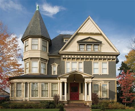 queen anne victorian homes cool weather exterior paints rk miles blog