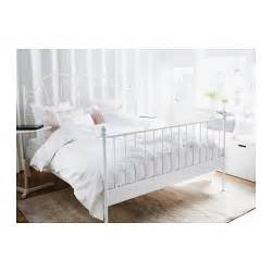 ikea double four poster bed frame and mattress in leirvik bed frame white l 246 nset 140x200 cm ikea