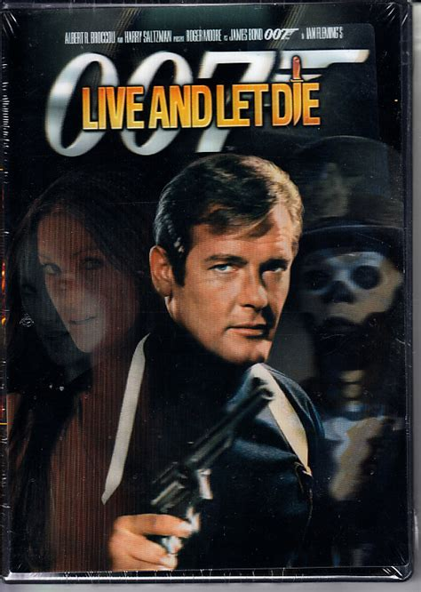 film james bond live and let die live and let die james bond 007 dvd digitally restored