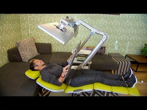 lay down desk this could be the desk of the future youtube